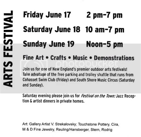 South Shore Art Center 56th Arts Festival Cohasset Common South Shore Boston MA