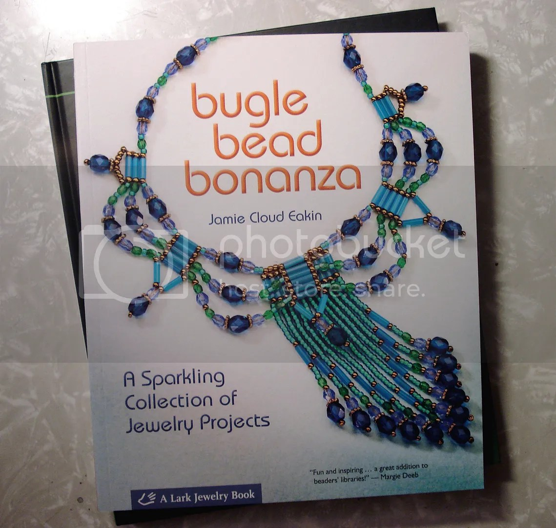 Lark Books Christmas holiday giveaway Bugle Bead Bonanza beading beadwork bead embroidery jewelry making book