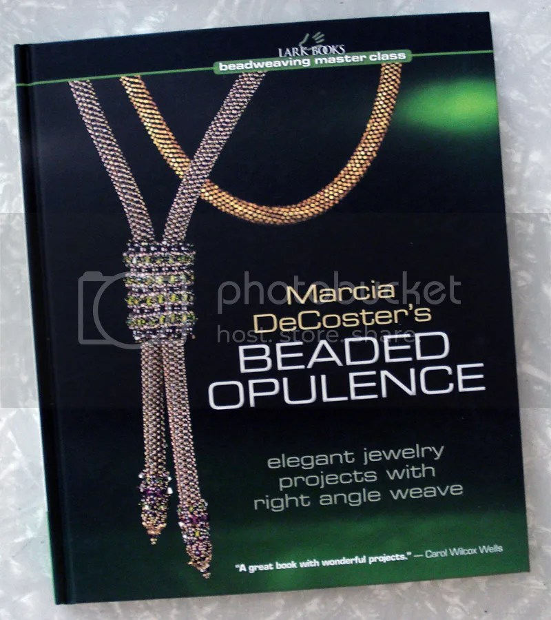 Lark Books Christmas holiday giveaway Marcia DeCoster Beaded Opulence beading beadwork bead embroidery jewelry making book