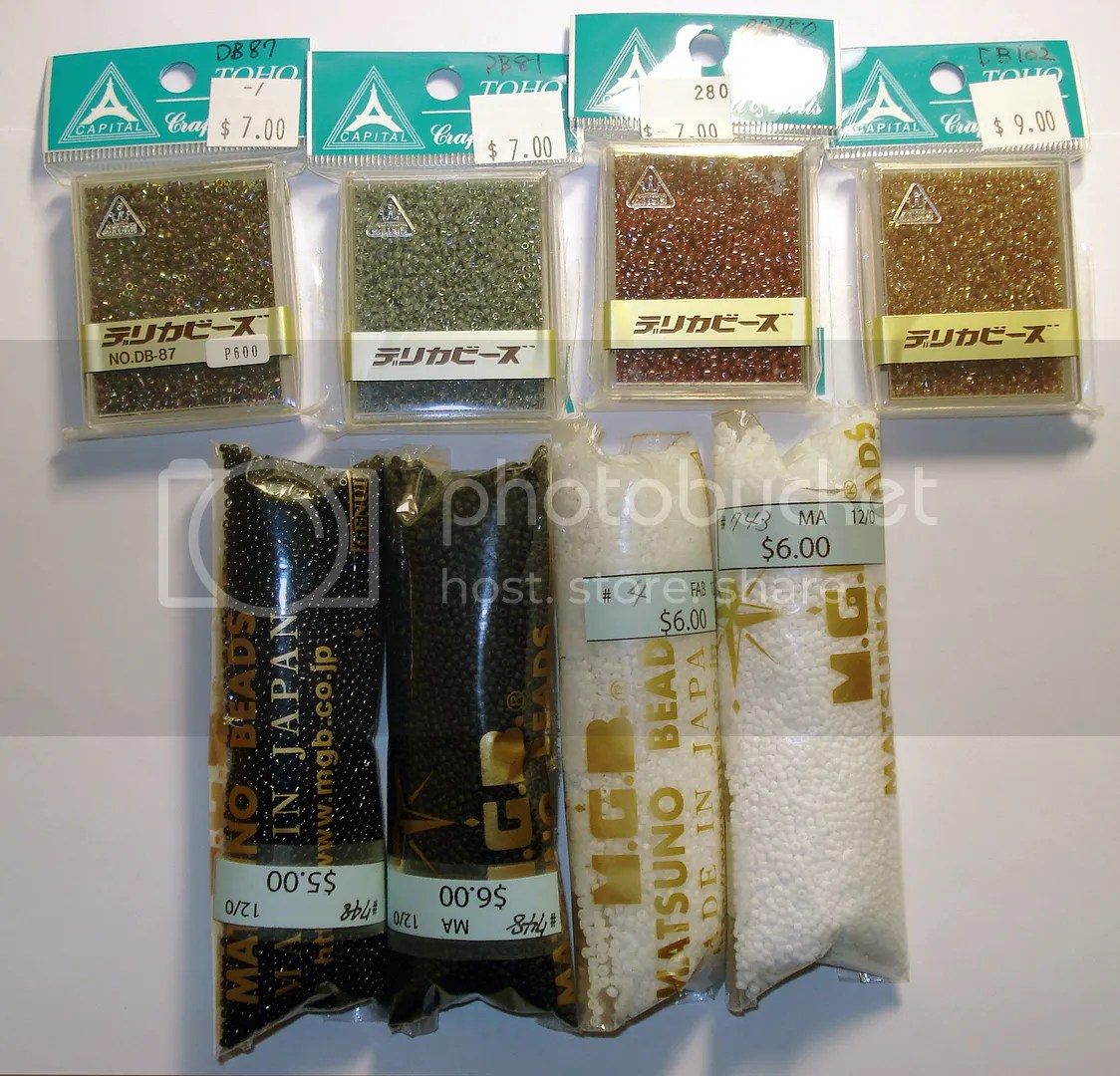 traveling beads bead shops NYC Manhattan New York City thelonebeader bead shopping Toho seed beads