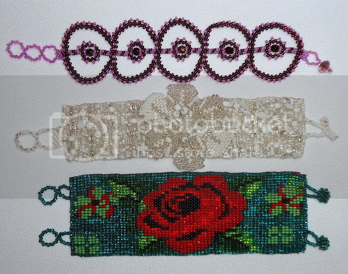 Mexican beaded bracelets beadwork Playa del Carmen jewelry shopping Cancun Mexico