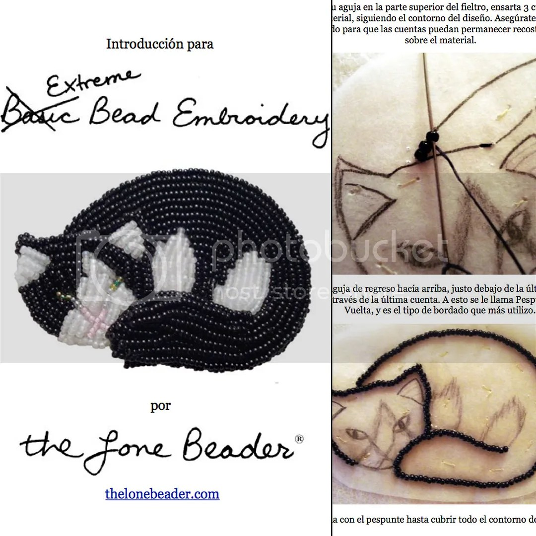 cats | Adventures in Bead Embroidery