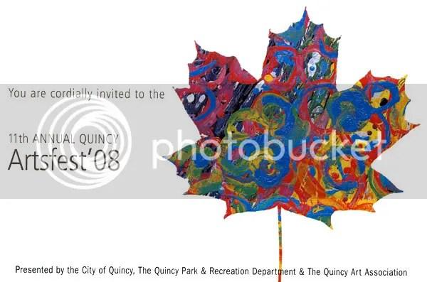 11th Annual Quincy ArtsFest MA Boston art festival pop artist bead embroidery beadwork