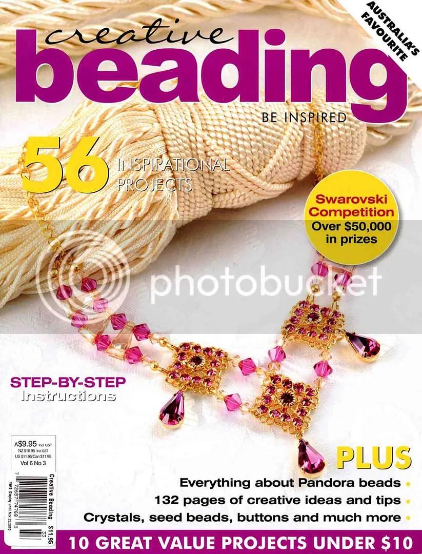 australia creative beading magazine 6.3 bead embroidery beadwork thelonebeader Boston artist