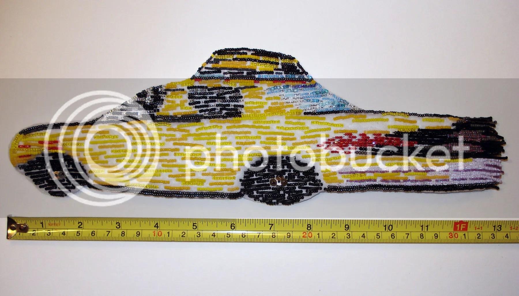 Beaded NYC taxi cab bead embroidery NYC street scene