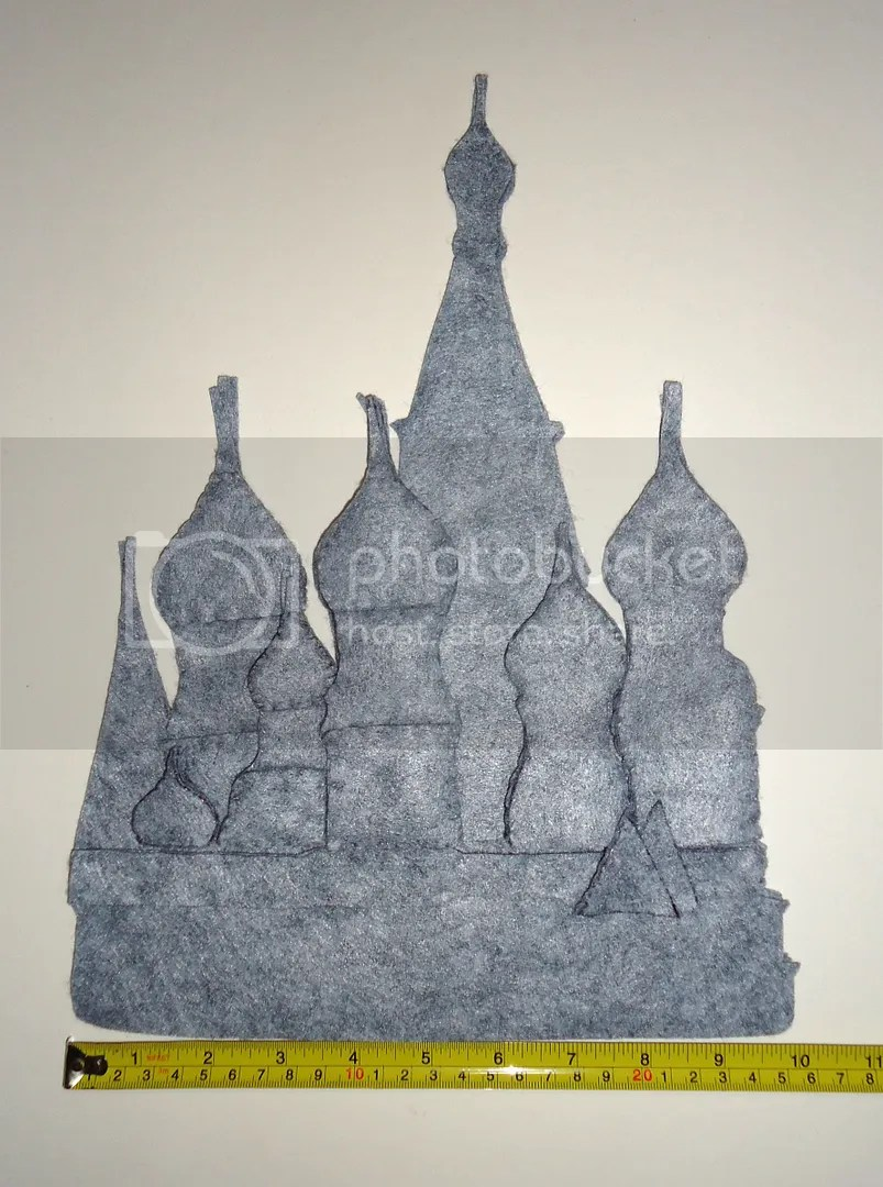 felt St Basils Cathedral Moscow Red Square painting beadwork bead embroidery etsy