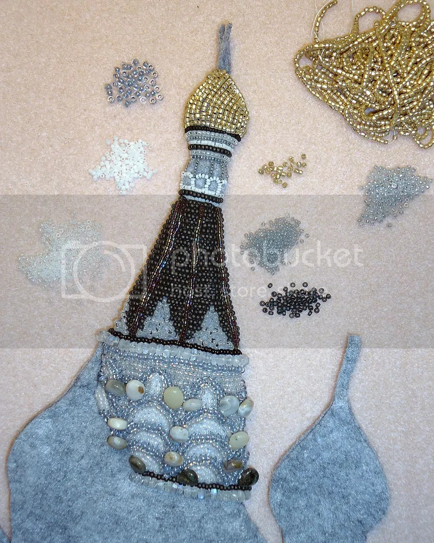 seed bead art embroidery beadwork Russian Cathedral painting beading etsy