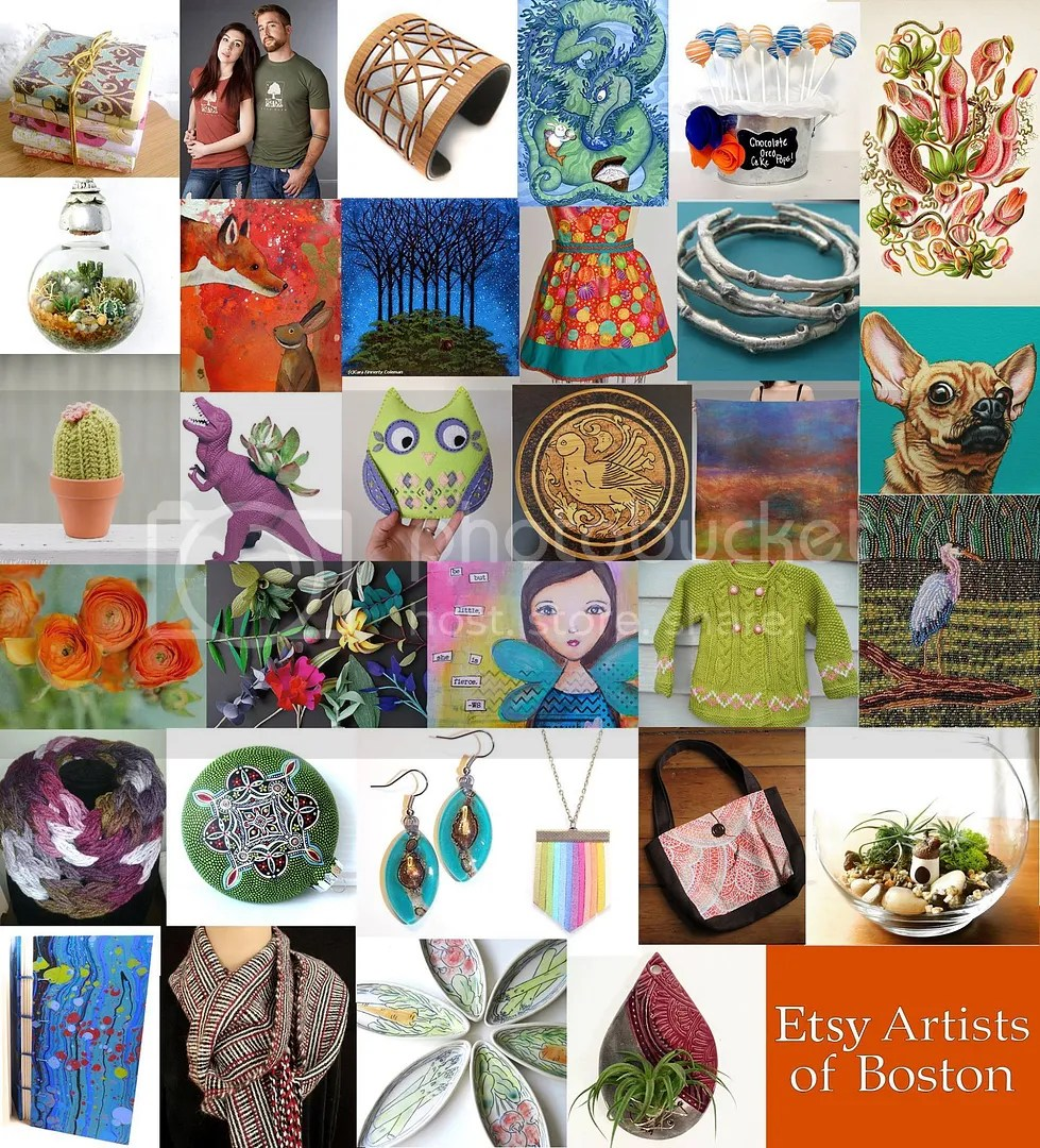 Etsy Artists of Boston Winter Bazaar 2015 Arsenal Project Watertown MA The Lone Beader