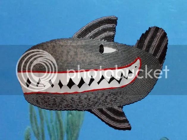Beaded Beatles Yellow Submarine Hey Bulldog bead embroidery Boston London pop artist Sea of Whales