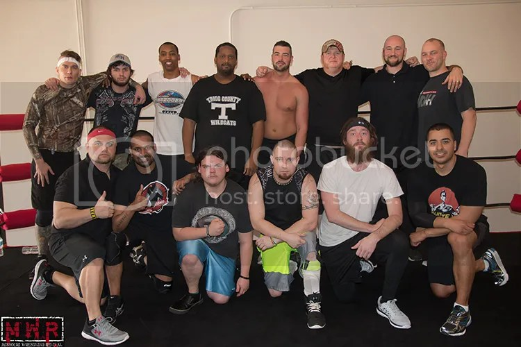 Dreams Are Made at the KC Pro Wrestling Training Center in