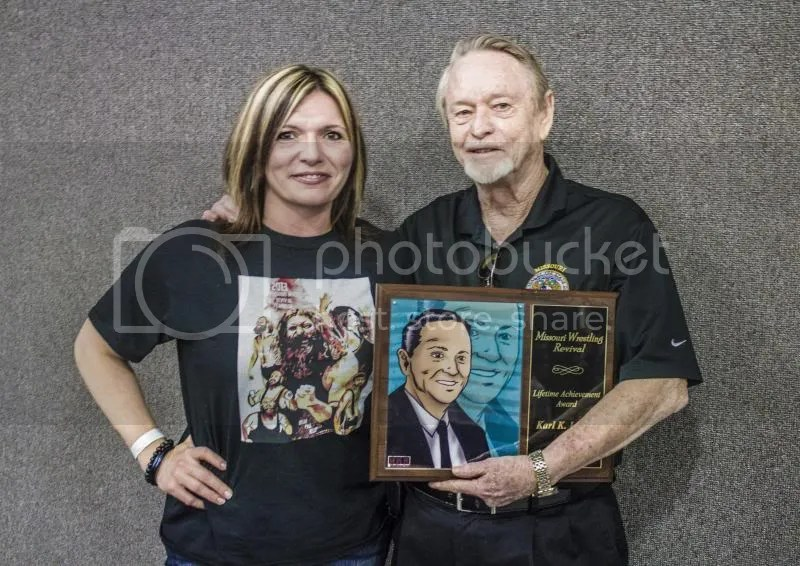 2013 MWR Lifetime   Achievement recipient Karl Lauer