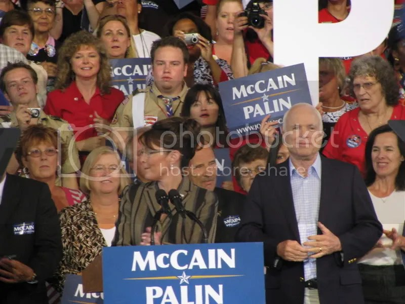 Palin and McCain