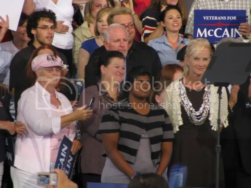 Bridget and Cindy McCain