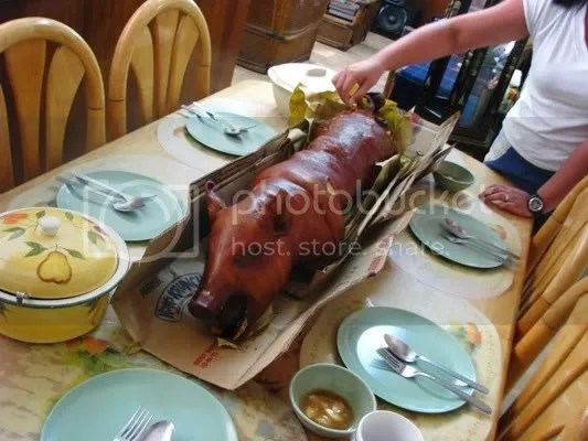 of course, you have to try cebu lechon. yum
