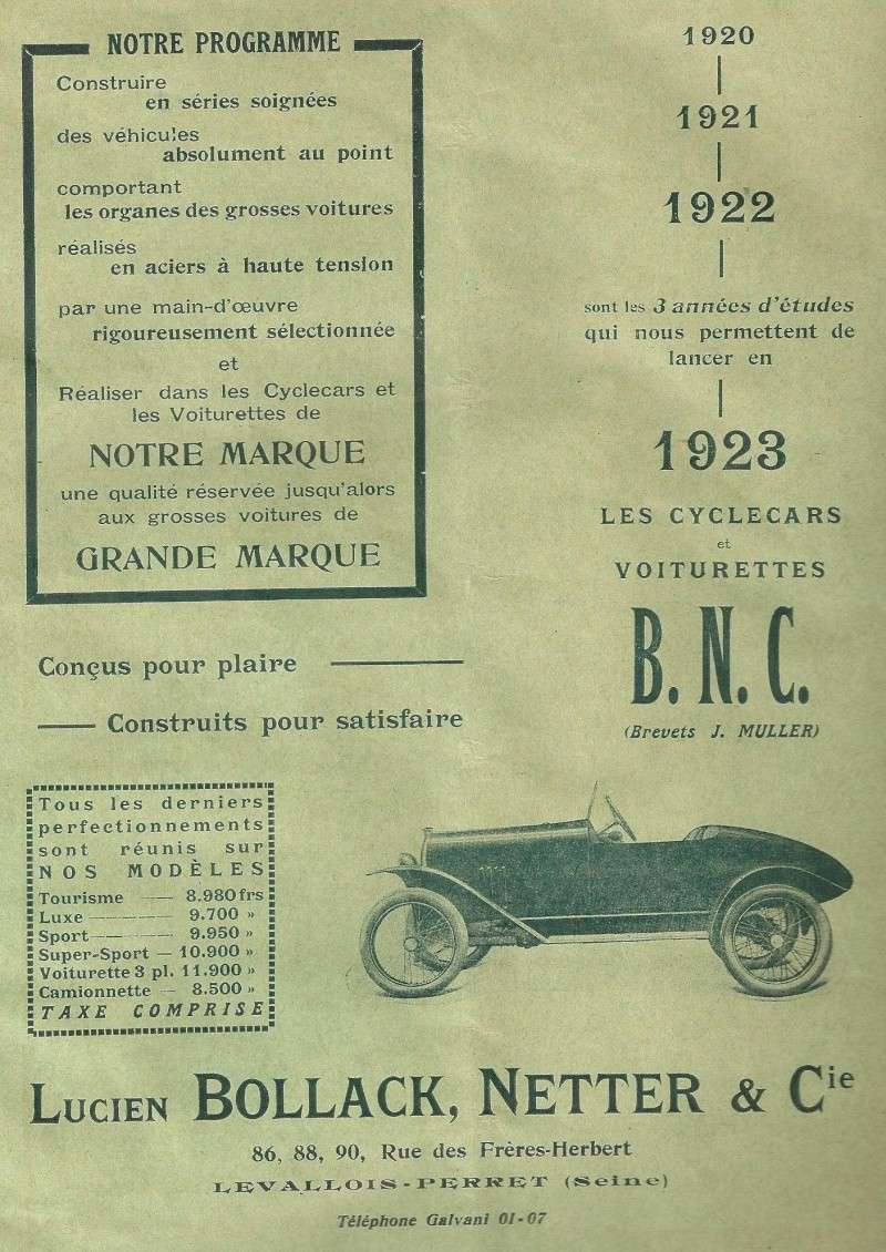BNC JMK 1923