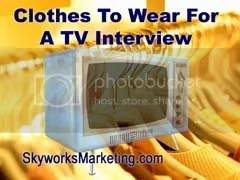 clothes,TV interview,video