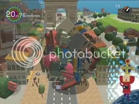 Måste.. bli... STÖRRE! från We Love Katamari (PS2)