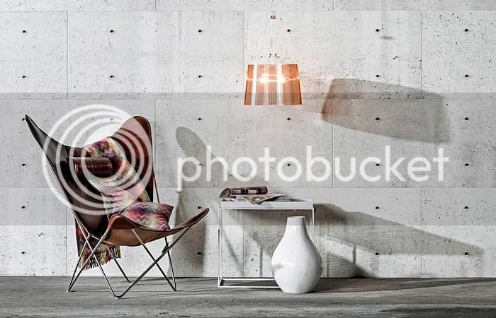 Veggplater betong look