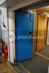 Entrance to studio 2