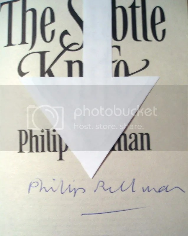 Signed Philip Pullman Book