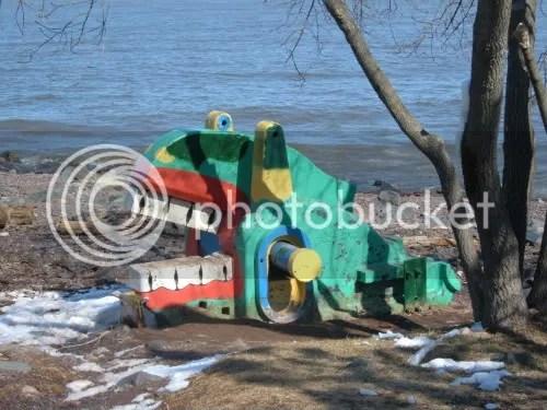 lakeside sculpture