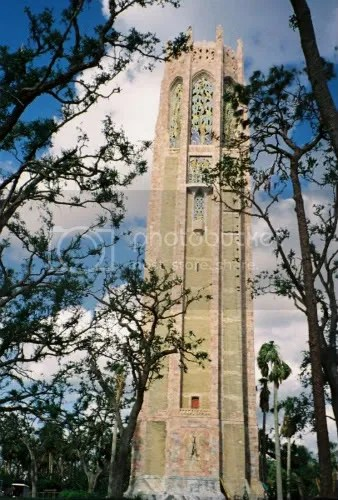 the Singing Tower at Bok Sanctuary after Hurricane Season 2004