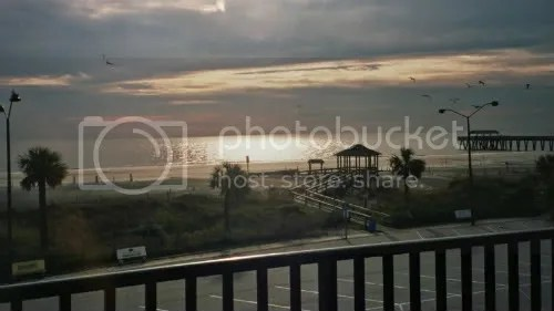 Tybee Island in the morning