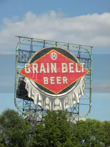 Everyone knows the Grain Belt sign.