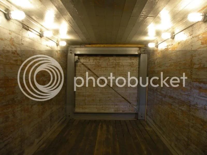inside a boxcar