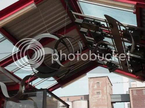 elevated sculpture work