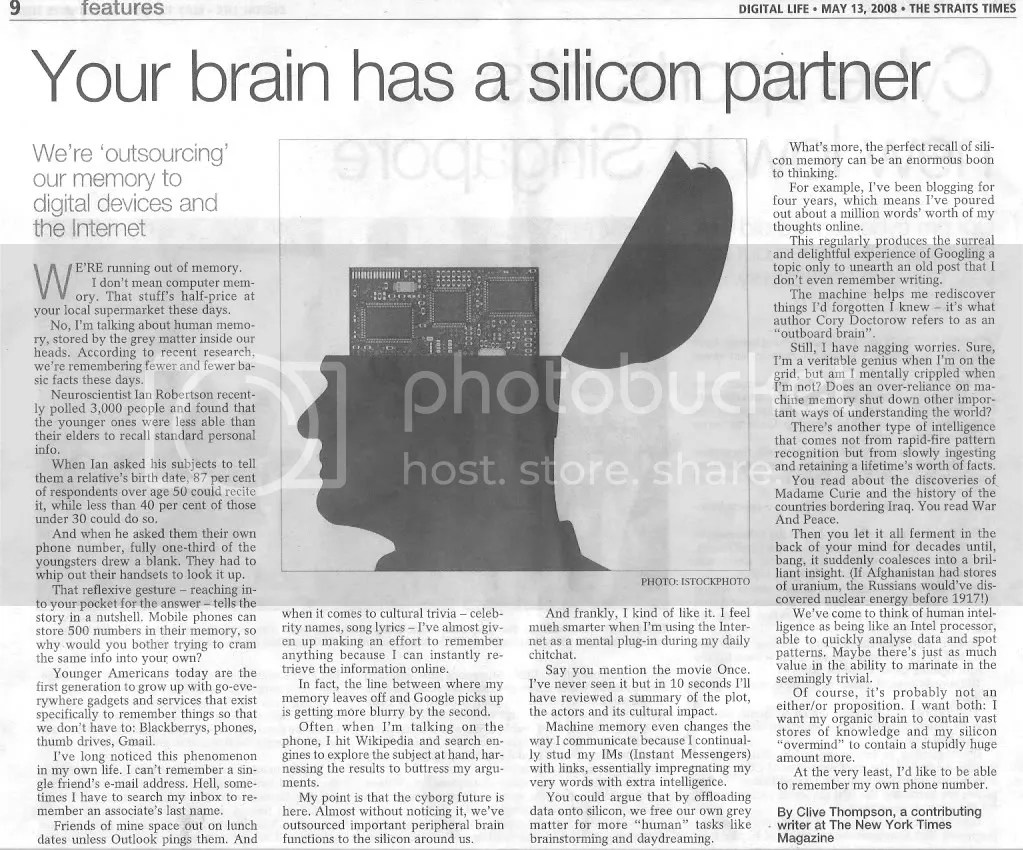 Your brain has a silicon partner