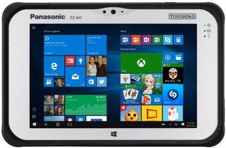 Планшет Panasonic Toughpad FZ-M1 7&quot 128Gb черный Wi-Fi Bluetooth 3G LTE 4G Windows FZ-M1AGJACE9 FZ-M1AGJACE9