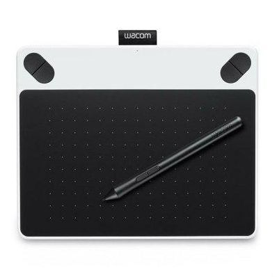 Графический планшет Wacom Intuos Draw White Pen S цвет белый (CTL-490DW-N) (CTL-490DW-N)