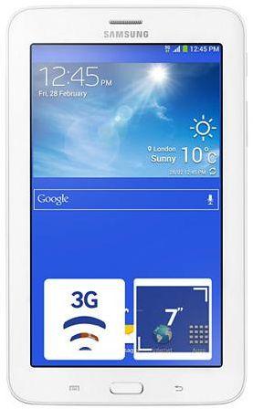 Планшет Samsung GALAXY Tab 3 7.0 Lite VE SM-T116 3G 8Gb белый