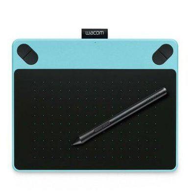 Графический планшет Wacom Intuos Art Blue PT S цвет мятно-голубой (CTH-490AB-N) (CTH-490AB-N)