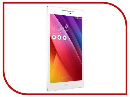 Планшет ASUS ZenPad 7 Z170C White 90NP01Z2-M00370 (Intel Atom C3200RK/1024MB/8Gb/Wi-Fi/Bluetooth/Cam/7.0/1024x600/Android)