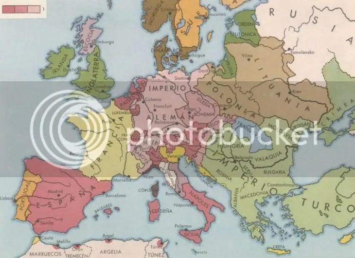 Europa en tiempos del Emperador