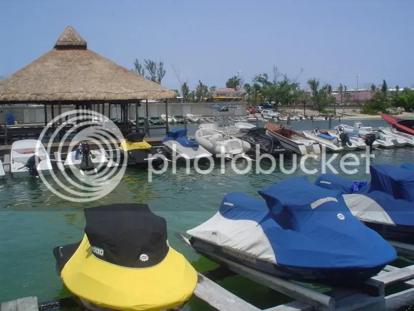 Waverunners en Sunset Hotel, CanCún
