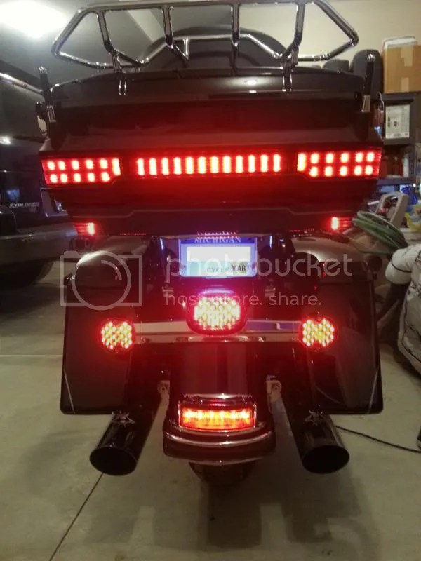 Motorcycle Led Running Lights