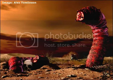 Mongolian Death Worm Pictures, Images and Photos