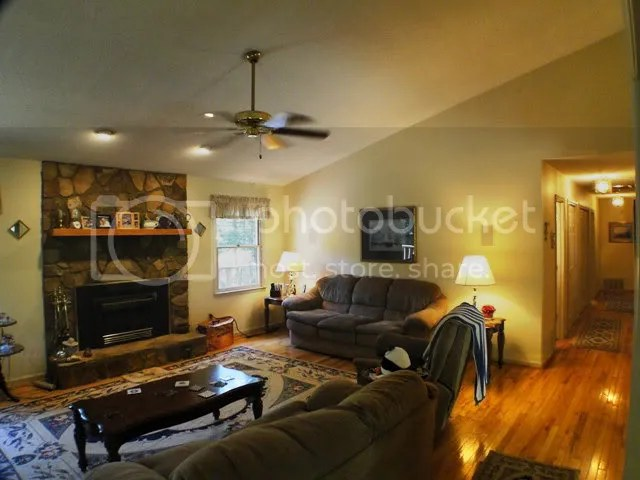 All rooms are bright and cheerful, Franklin NC Log Cabins for Sale, Blue Ridge Mountain Properties