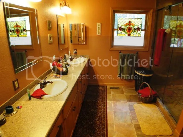 Keep your feet toasy warm on the heated bathroom floors, Keller Williams Real Estate, Franklin NC Properties