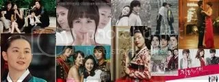 Korean TV dramas collage