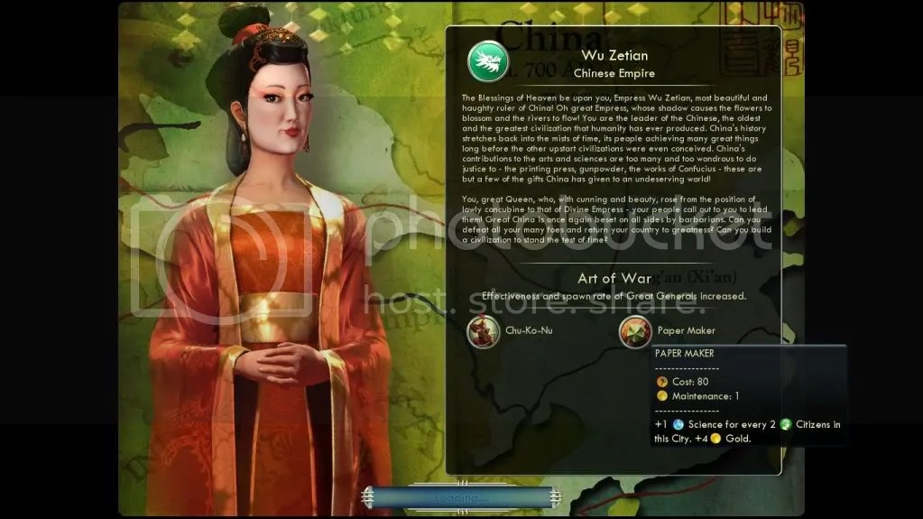 Wu Zetian, from Civ 5