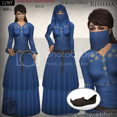 Rishma blue