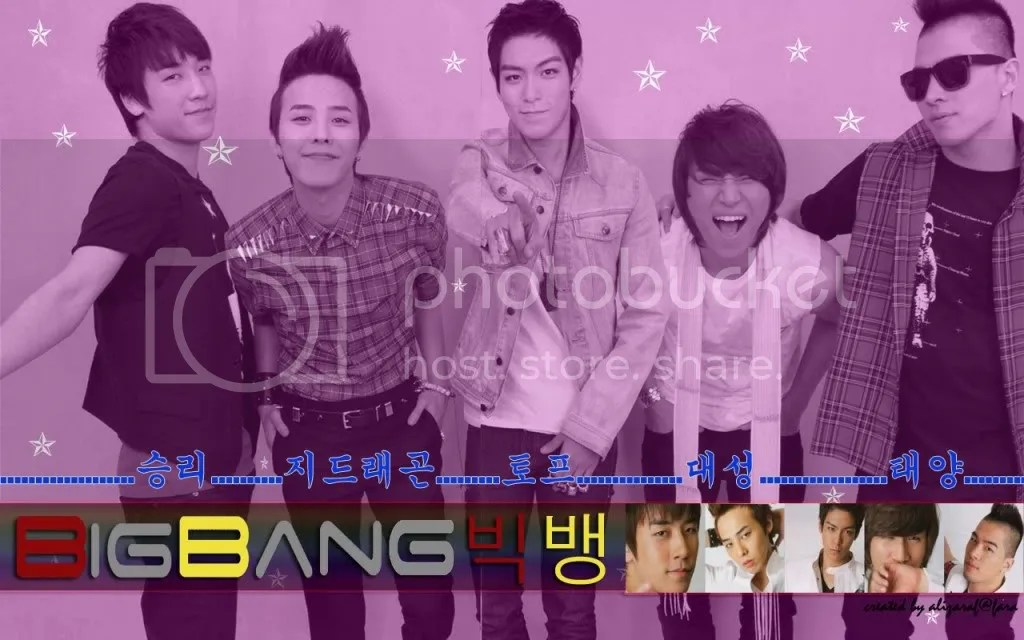 Big Bang wall 2