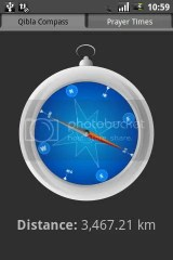 software for android Qibla compass Sofware for android picture
