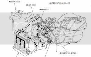 radiator hose diagram for jonway 250 | Scooter Doc Forum