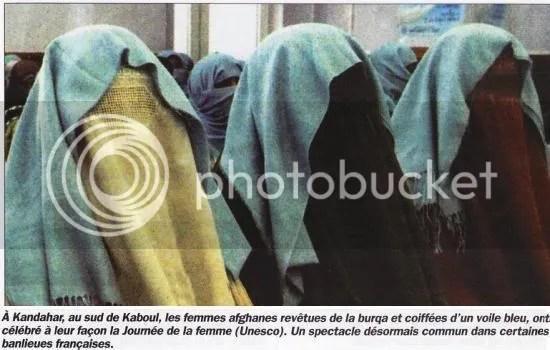 Femmes afghanes, la journée de la femme