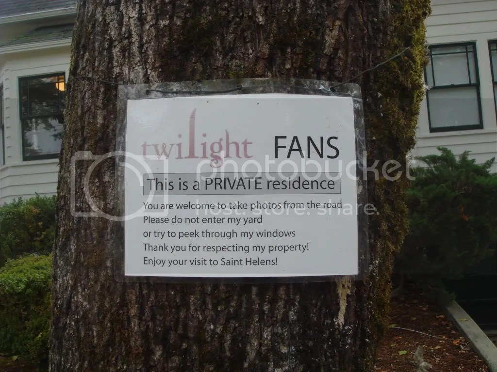 Message from the home owner to Twilight fans. & Visiting the Real Filming Locations of \u0027Twilight\u0027 | Twi Adventures